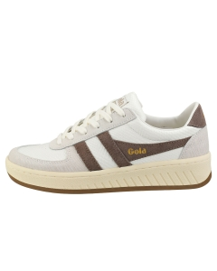 Gola GRANDSLAM REPTILE Women Fashion Trainers in Taupe Grey