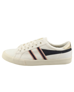 Gola TENNIS MARK COX SELVEDGE Men Casual Trainers in Off White Navy