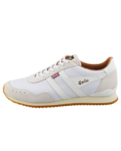 Gola TRACK 317 -MADE IN ENGLAND- Men Casual Trainers in White White