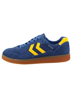 hummel HB TEAM Men Casual Trainers in Blue Yellow