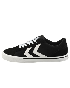 hummel NILE LOW Men Casual Trainers in Black White