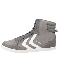 hummel SLIMMER STADIL HIGH Men Casual Trainers in Grey White
