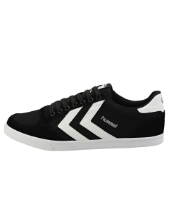 hummel SLIMMER STADIL LOW Men Casual Trainers in Black White