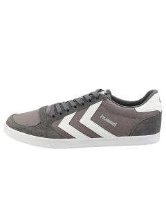 hummel SLIMMER STADIL LOW Men Casual Trainers in Grey White