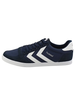 hummel SLIMMER STADIL LOW Men Casual Trainers in Navy White