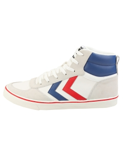 hummel STADIL HIGH OGC 3.0 Men Casual Trainers in White Navy Red