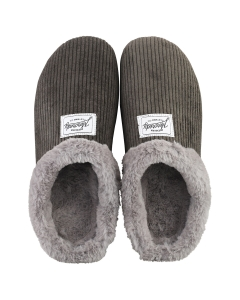 Mercredy SLIPPER CHARCOAL Women Slippers Shoes in Charcoal