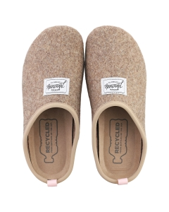 Mercredy SLIPPER TAUPE ROSE Women Slippers Shoes in Taupe Pink