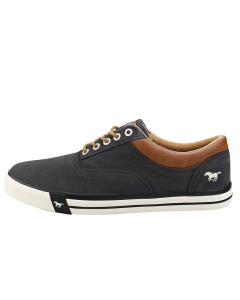 Mustang LACE UP LOW TOP Men Casual Trainers in Black