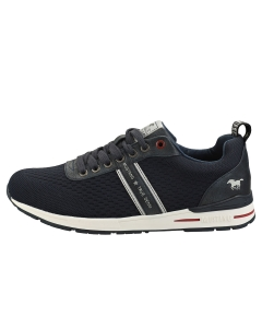 Mustang LACE UP LOW TOP Men Platform Trainers in Navy