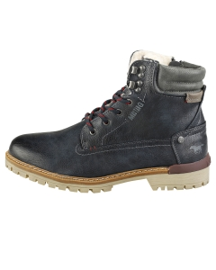 Mustang LACE UP SIDE ZIP Men Chukka Boots in Navy