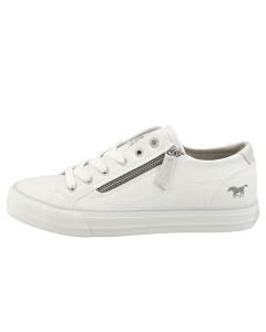 Mustang LOW TOP SIDE ZIP Women Fashion Trainers in White