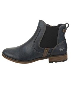 Mustang SIDE ZIP LOW HEEL Women Chelsea Boots in Navy