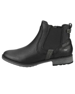 Mustang SIDE ZIP LOW HEEL Women Chelsea Boots in Black
