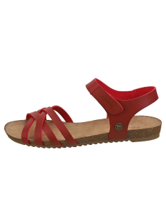 Mustang SINGLE STRAP Women Casual Sandals in Red