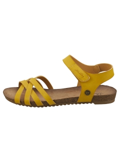 Mustang SINGLE STRAP Women Casual Sandals in Yellow