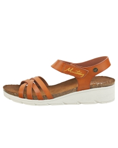 Mustang SINGLE STRAP Women Casual Sandals in Chestnut