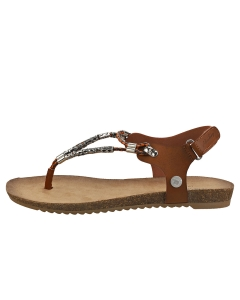 Mustang STRAPPY SANDALS Women Fashion Sandals in Brown