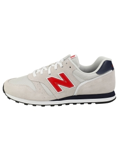 New Balance 373-STANDARD WIDTH- Men Casual Trainers in Off White Navy