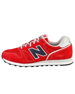 New Balance 373 Men Casual Trainers in Red Navy