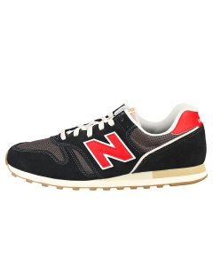 New Balance 373 Men Casual Trainers in Black Red