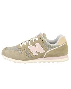 New Balance 373 Women Casual Trainers in Olive Pink