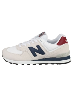New Balance 574 Men Casual Trainers in Grey Navy