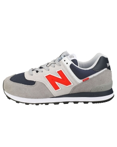 New Balance 574 Men Fashion Trainers in Grey Red