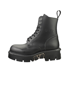 New Rock M-MILI084N-S3 Unisex Ankle Boots in Black