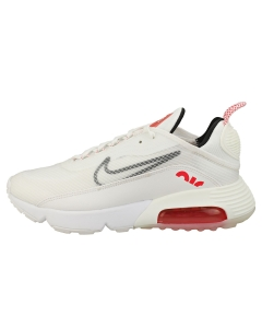 Nike AIR MAX 2090 Women Fashion Trainers in White Red