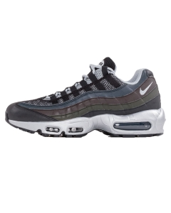 Nike AIR MAX 95 PRM Men Running Trainers in Black Silver