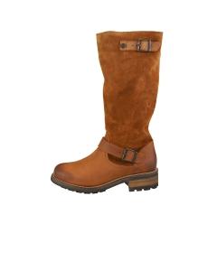 Oak & Hyde BRIDGE Women Knee High Boots in Cognac
