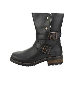 Oak & Hyde BRIDGE DEMI Women Ankle Boots in Black