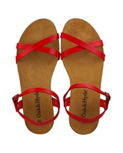 Oak & Hyde ELLA VINTAGE Women Walking Sandals in Red