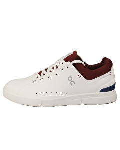 On Running THE ROGER ADVANTAGE Men Casual Trainers in White Mulberry