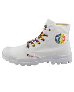 Palladium PAMPA PRIDE RAINBOW Unisex Fashion Boots in White Multicolour