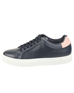 Paul Smith BASSO Men Casual Trainers in Navy Pink