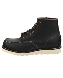 Red Wing 6-INCH MOC TOE Men Classic Boots in Black