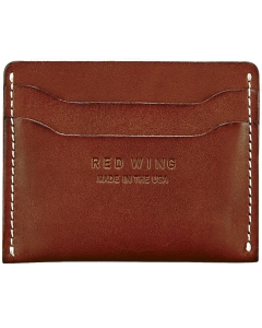Red Wing CARD HOLDER Wallet in Red Mahogany