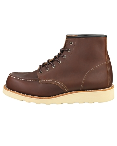Red Wing CLASIC MOC Women Casual Boots in Mahogany