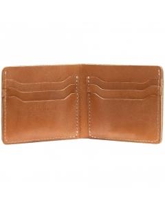 Red Wing CLASSIC BI-FOLD DUAL CARD Wallet in Tan