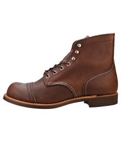 Red Wing IRON RANGER Men Casual Boots in Amber