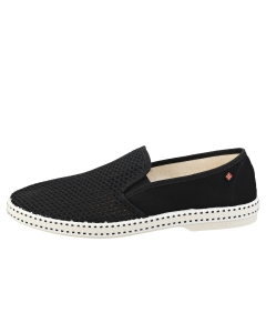 Rivieras CLASSIC 20 Unisex Espadrille Shoes in Black White