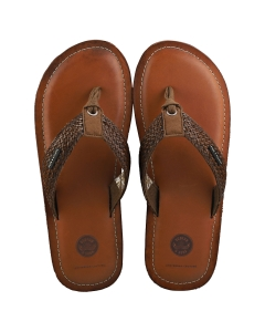 Scotch & Soda CADELLI Men Walking Sandals in Dark Brown