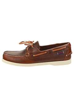 Sebago DOCKSIDES FGL OILED WAXY Men Boat Shoes in Brown