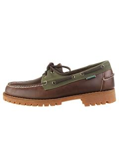 Sebago PORTLAND RANGER LUG Men Boat Shoes in Brown Olive