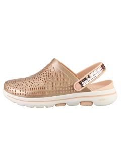 Skechers GO WALK 5 ELEGANCE Women Walking Sandals in Rose Gold