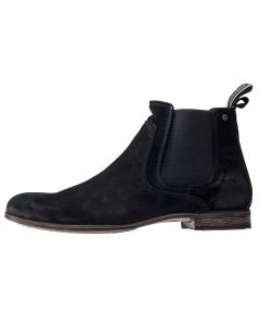Sneaky Steve CUMBERLAND Men Chelsea Boots in Black Suede