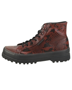 Superga 2314 ALPINA SYNSNAKEW Women Casual Boots in Red Black