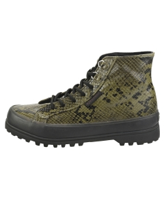 Superga 2341 ALPINA SYNSNAKEW Women Casual Boots in Green Black
